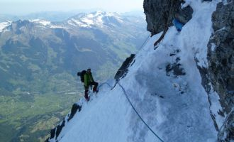 Eiger - Heckmair Route